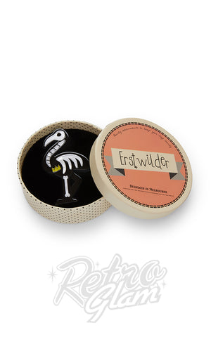 Erstwilder Franken-Flamingo Brooch box