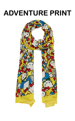 Erstwilder Hello Kitty Large Neck Scarf adventure