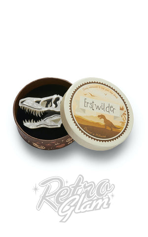 Erstwilder Bad To The Bone Brooch t-rex