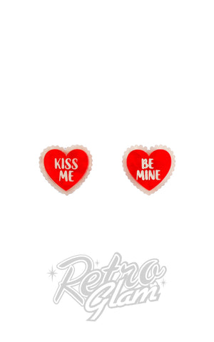 Erstwilder Be Mine, Valentine Stud Earrings