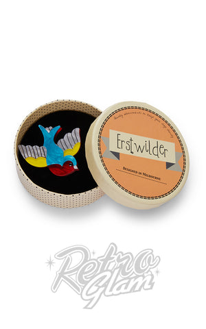 Erstwilder Betty Jo Sparrow Brooch box