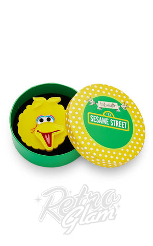 Erstwilder Sesame Street Big BIrd Brooch box