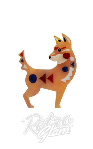 Erstwilder The Dapper Dingo Brooch