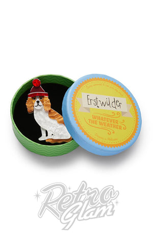 Erstwilder Wintertime Walkies Brooch box