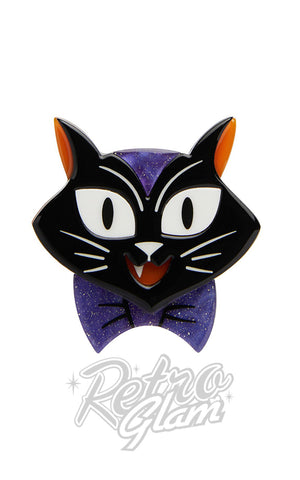 Erstwilder Cat Charming Brooch