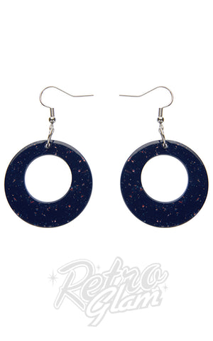 Erstwilder Circle Resin Drop Earrings - Assorted Colours