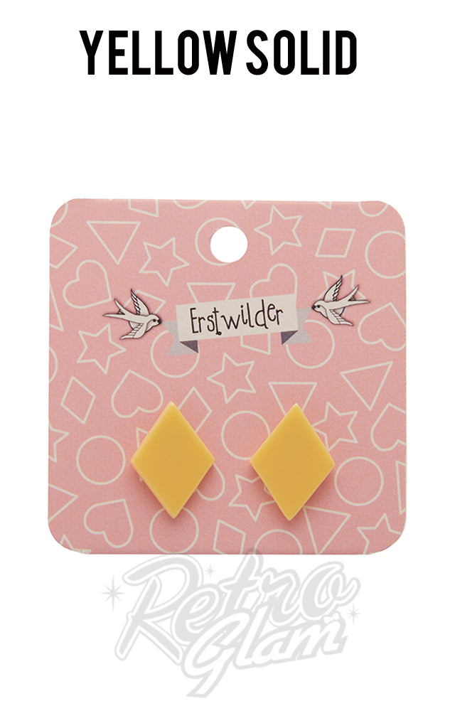 Erstwilder Diamond Stud Earrings - Pick from current selection