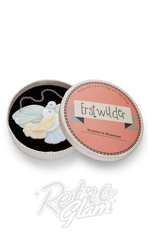 Erstwilder Mes Columbes Doves Necklace box