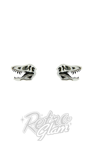 Erstwilder Bad To The Bone Stud Earrings