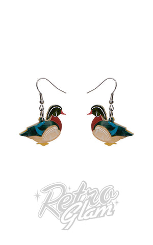 Erstwilder Mallard Ballard Drop Earrings
