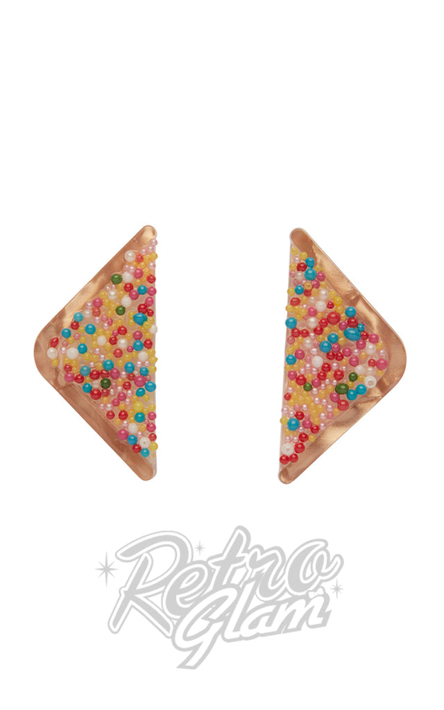 Erstwilder Fairy Bread Stud Earrings