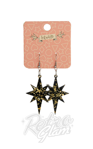 Erstwilder Starburst Resin Drop Earrings - Assorted Colours
