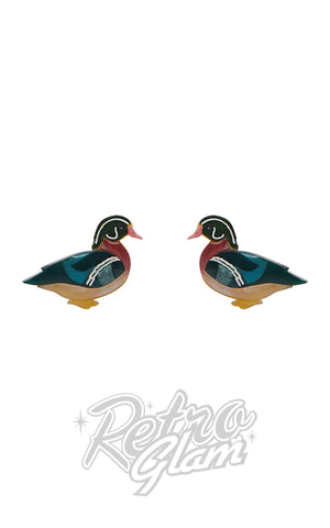 Erstwilder Mallard Ballard Stud Earrings