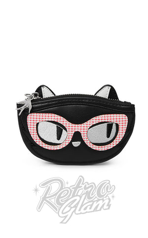 Erstwilder Elissa the Indie Cat Coin Purse