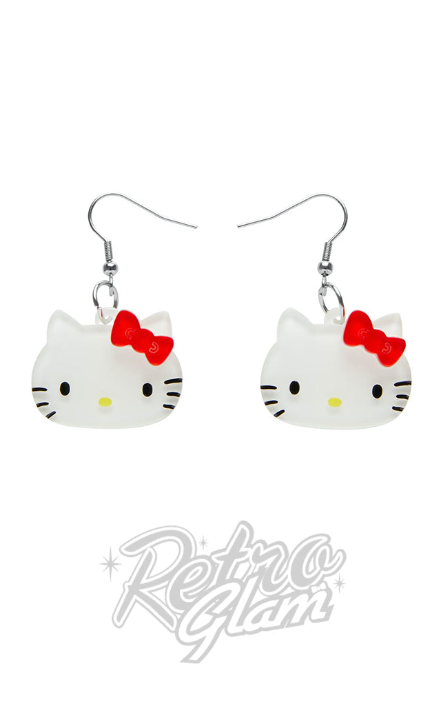 Erstwilder Hello Kitty Drop Earrings