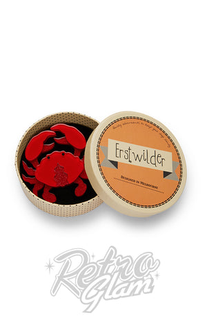 Erstwilder Huggable Decapod Brooch box