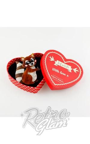 Erstwilder Love Bandit Brooch box