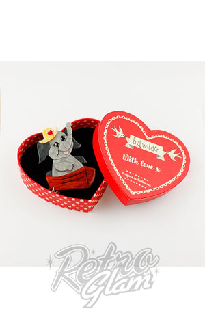 Erstwilder Love Boat Brooch box