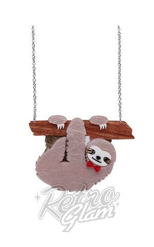 Erstwilder Cyril the Sloth Necklace