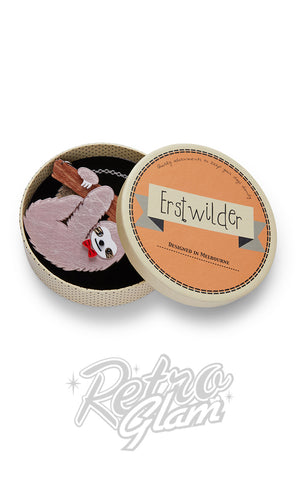 Erstwilder Cyril the Sloth Necklace box