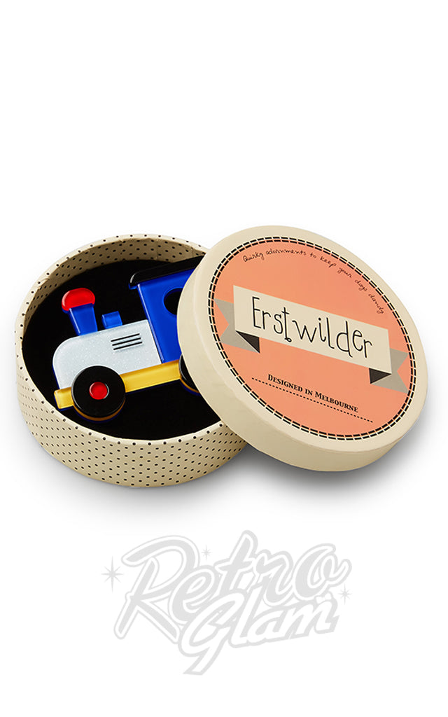 Erstwilder The Nostalgia Express Train Brooch