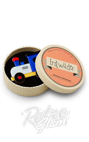 Erstwilder The Nostalgia Express Train Brooch box