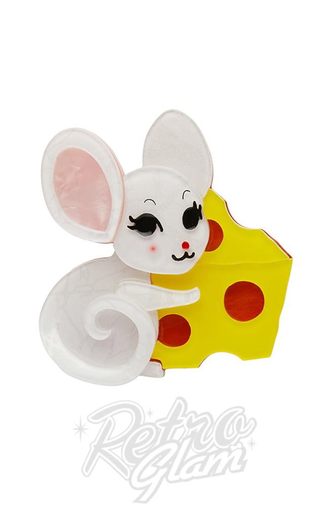 Erstwilder Not Even a Mouse Brooch