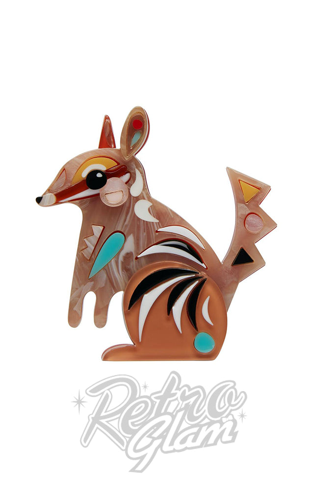 Erstwilder The Notorious Numbat Brooch