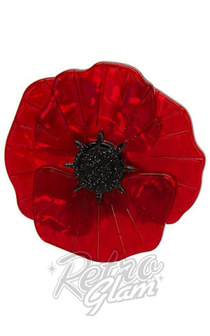 Erstwilder Poppy Field Brooch