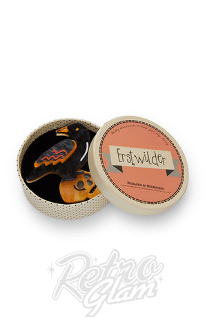 Erstwilder Raven Mad Brooch box