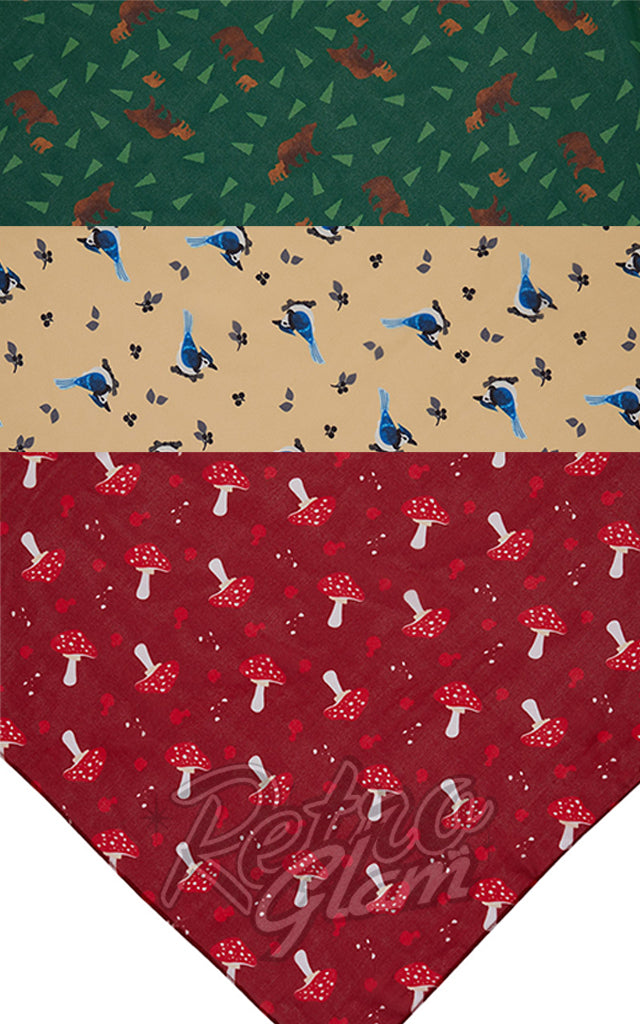 Erstwilder Woodlands Scarves - Pick your Design