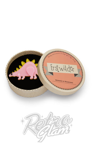 Erstwilder Scotty Stegasaurus Brooch box