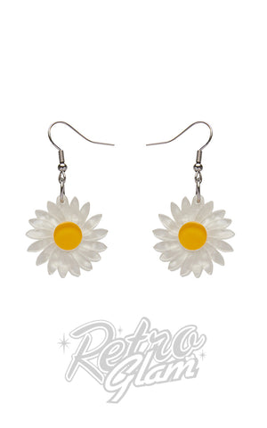 Erstwilder She Loves Me Daisy Drop Earrings