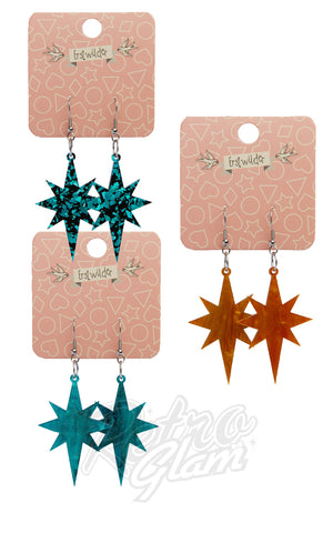 Erstwilder new starburst earrings