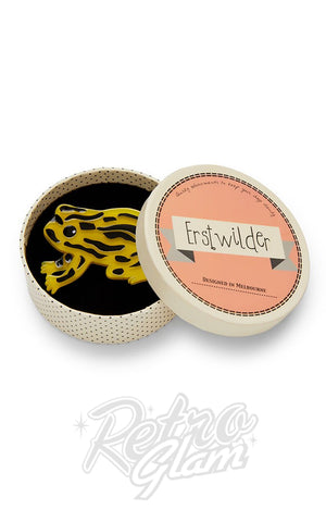 Erstwilder Tiny Toxic Tim Brooch box