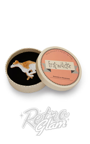 Erstwilder Weightless Whippet Brooch box