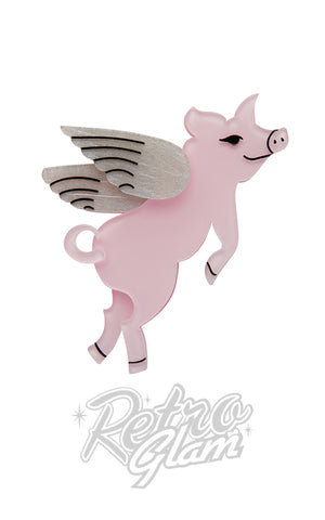 Erstwilder Pigs Can Fly Brooch