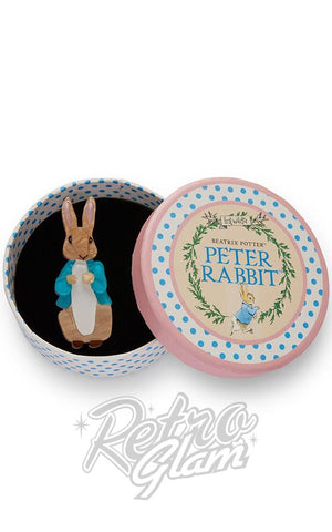 Erstwilder Peter Rabbit Collection Peter Rabbit resin Brooch with gift box