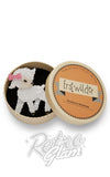 Erstwilder Dolly the Dainty lamb resin Brooch gift box