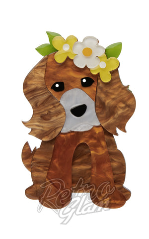 Erstwilder Puppy Love resin Brooch