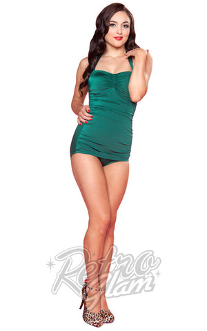 Esther Williams Pinup Swimsuit in Green