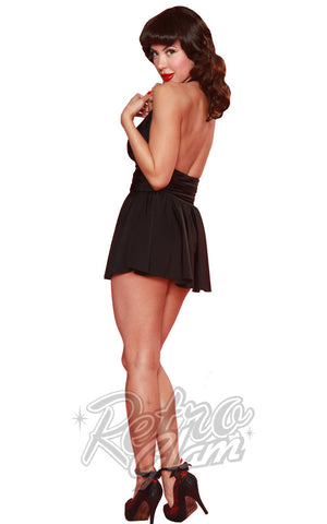 Esther Williams Classic Marilyn Skirtsuit in Black