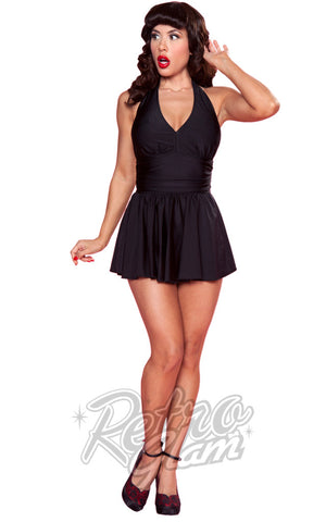 Esther Williams Classic Marilyn Swimsuit in Black