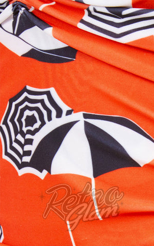 Esther Williams Umbrella Swimsuit Detail