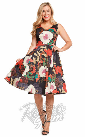Eva Rose Misses Dress in Big Floral