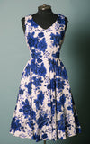 Eva Rose Misses Dress in Blue Floral