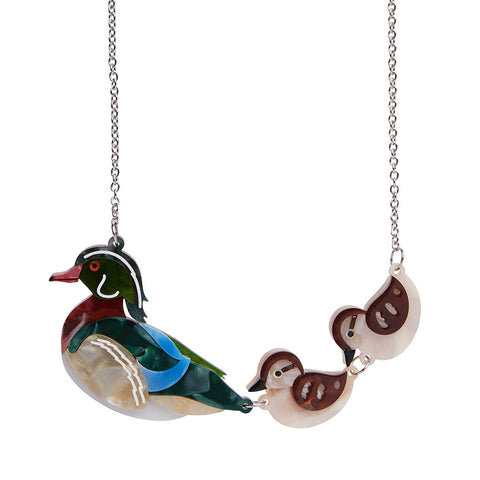 Erstwilder Ducks In A Row Necklace