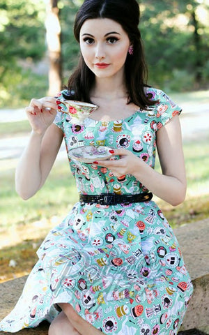 Retrolicious Mad Tea Party Dress