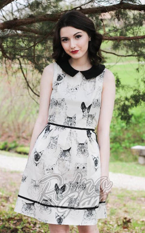 Retrolicious Purrfect Occasion Dress
