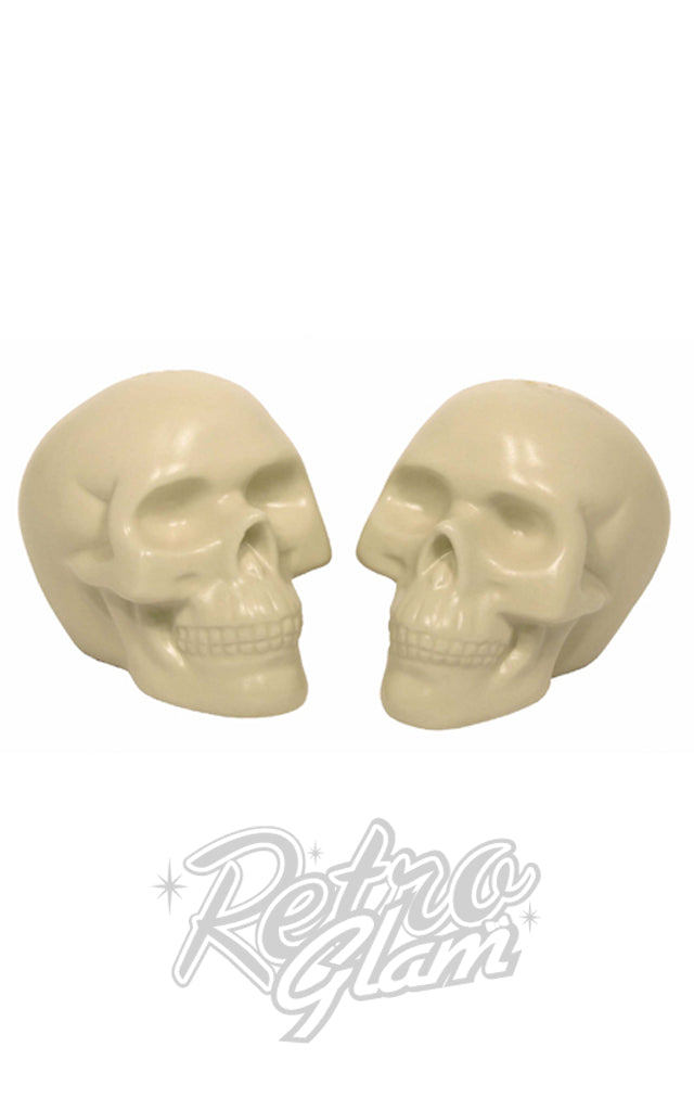 Skull Salt & Pepper Shaker Set